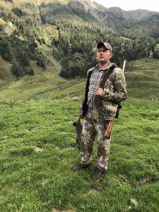 AUSTRIA - ALPY - polowanie na Świstaki.